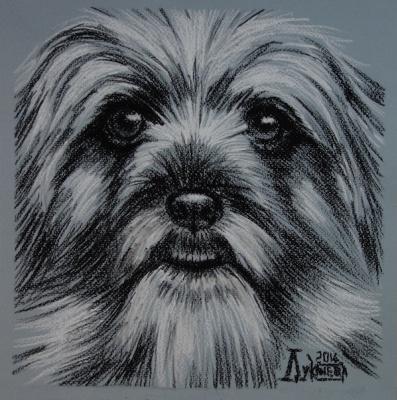 Larissa Lukaneva. Doggie 2