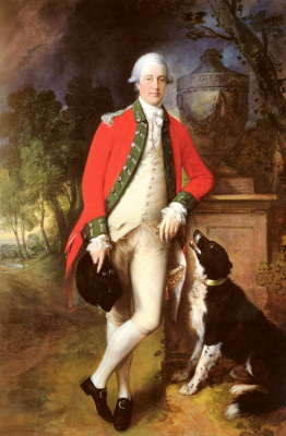 Thomas Gainsborough. Portrait of Colonel John bullock