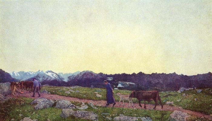 Джованни Сегантини. Альпийский триптих. Жизнь