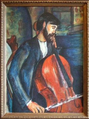 Андрей Харланов. Copy: Modigliani - Study of The Chellist