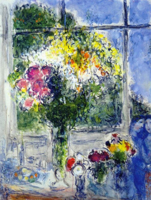Марк Захарович Шагал. Окно в студии художника