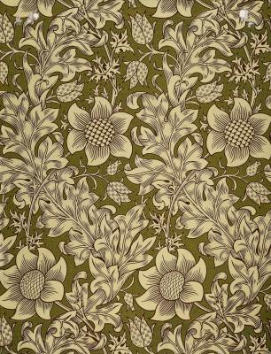 William Morris. Chess hazel grouse (Fitillaria)
