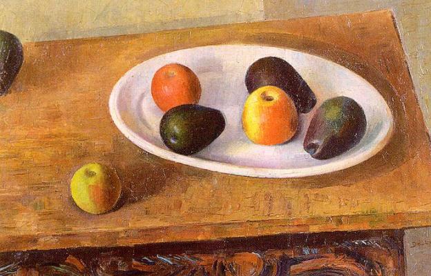 Эндрю Дасбург. Натюрморт с яблоками