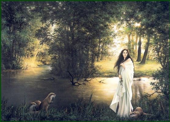 Анна Садворс. Дочь реки