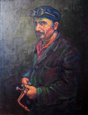 Андрей Владимирович Хан. Сварщик