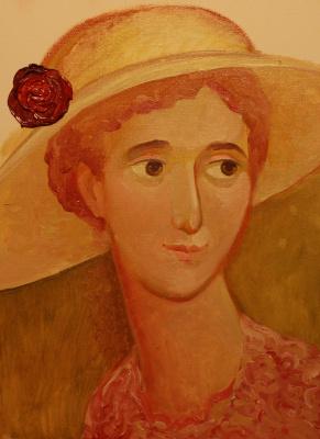 Olga Gennadievna Kravtsova-Motspan. English rose.