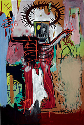 Jean-Michel Basquiat. Untitled (Figure)