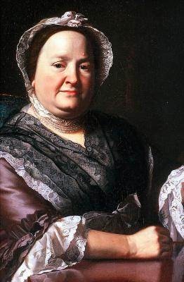 John Singleton Copley. Mrs. Ezekiel Goldwait (Elizabeth Lewis). Fragment