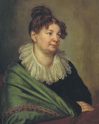 Alexander Grigorievich Varnek. Portrait of Catherine Borisovna Akhverdova. State Tretyakov Gallery, Moscow