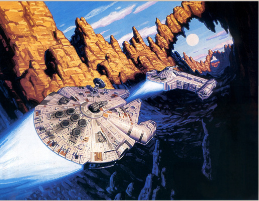 Тим Хильдебрандт. Звездные войны 89