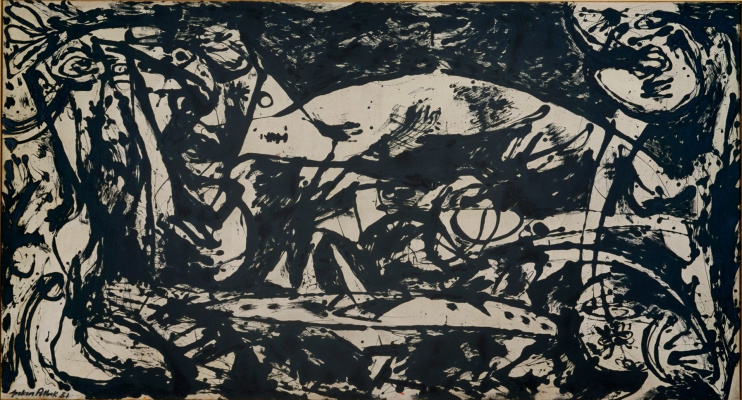 Jackson Pollock. Room 14