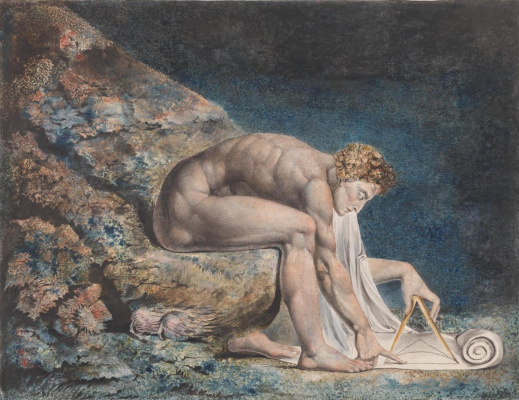 William Blake. Newton
