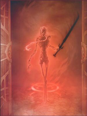 Jason Engle. Bloody skeleton
