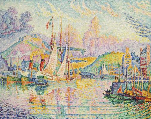 Paul Signac France 1863 - 1935. Cherbourg. Fort du Roul. 1932