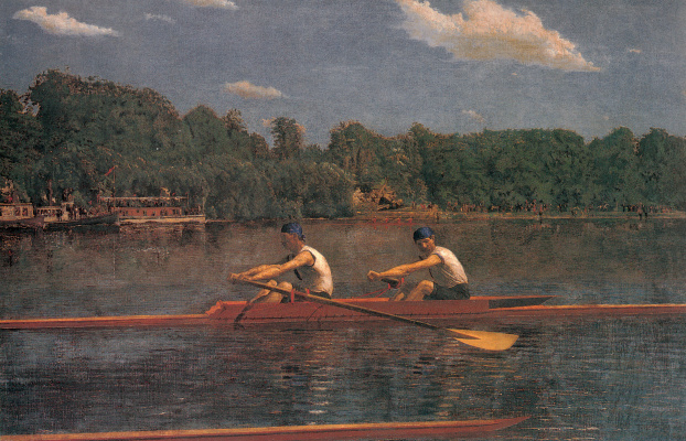 Thomas Eakins. Race brothers Langenthal
