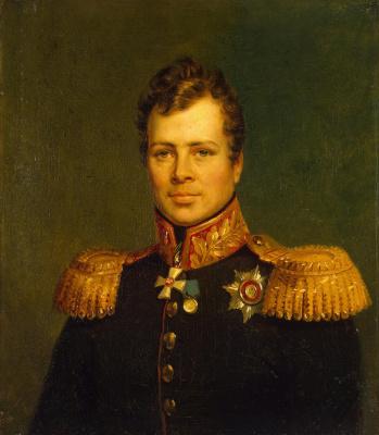 George Dow. Portrait Of Maxim I. Damas