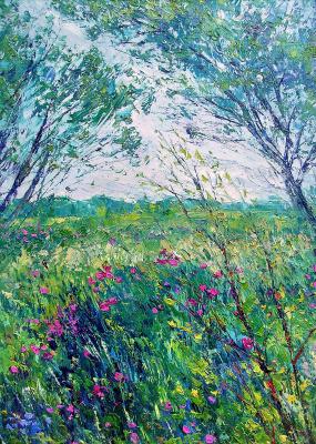Konstantin Leonidovich Antipov. Rosehip blooms