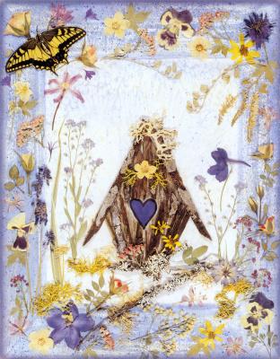 Шерил Уэлч. Цветочный мотив 10