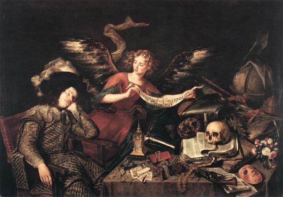 Антонио де Переда. Рыцарский сон