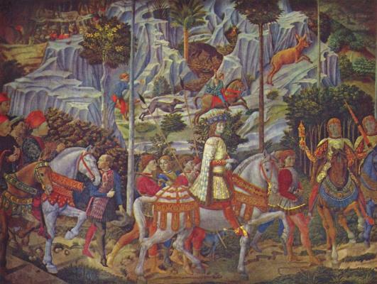 Беноццо Гоццоли. Путь волхвов