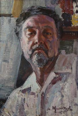 Альберт Щитков. Портрет художника В.Коротченко
