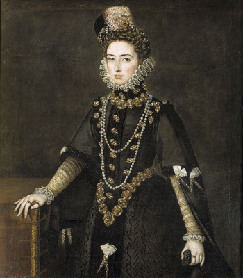 Sofonisba Anguissola. Infanta Catalina Michaela of Austria