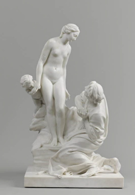 Etienne Maurice Falcone. Pygmalion and Galatea