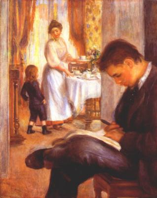 Pierre-Auguste Renoir. Breakfast in Berneval