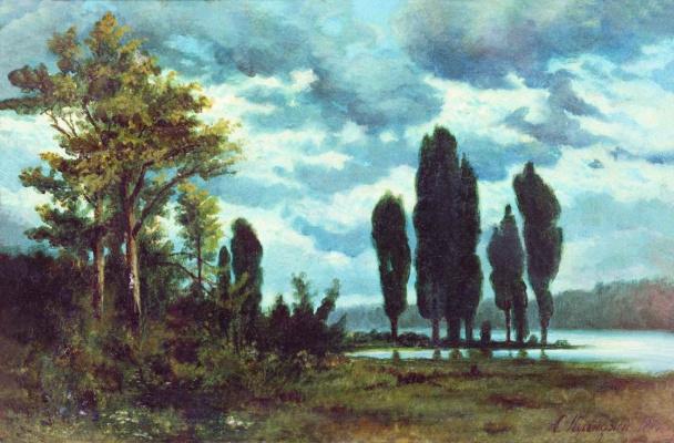 Arkhip Ivanovich Kuindzhi. Landscape