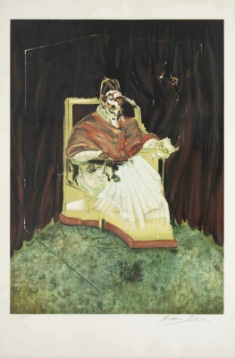 Francis Bacon. Study of Innocent X