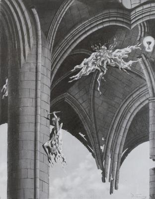 Dorothea Tunning. Angelic fun (graphics)