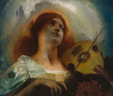 Jean Delville. Allegory of Music