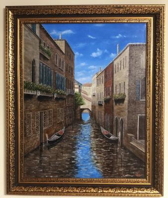 Aram Marinosyan. Canal in venice