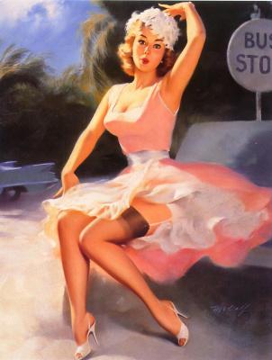 Билл Медкалф. Розовое платье