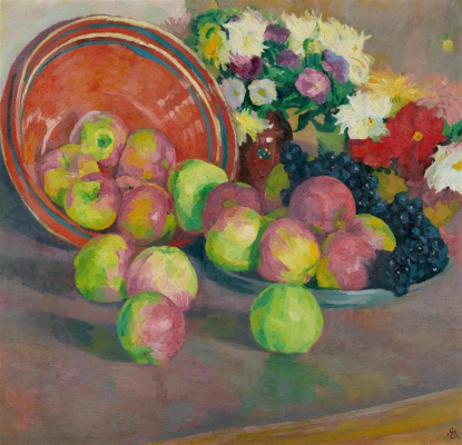 Giovanni Giacometti. Flowers and fruits