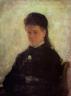 Nikolai Nikolaevich Ge. Portrait Of N. P. Magdenko