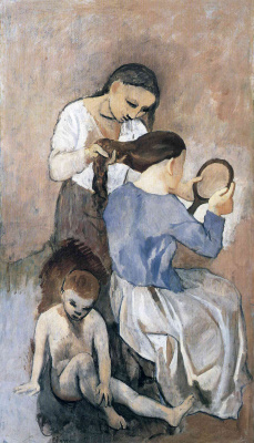 Pablo Picasso. The combing