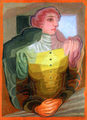Juan Gris. Woman with arms crossed