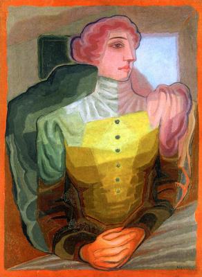 Хуан Грис. Женщина со скрещенными руками