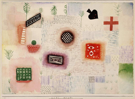 Paul Klee. Marks place