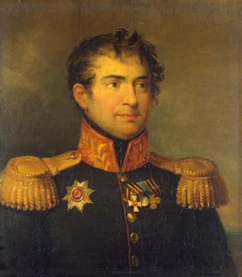 George Dow. Portrait of Karl Maksimovich Herzdorf
