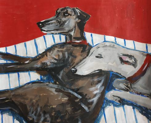 Alesya Zueva. Russian greyhounds