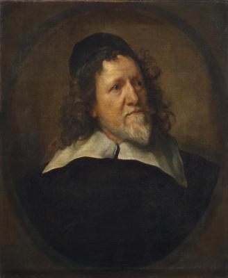 Anthony van Dyck. Portrait Of Inigo Jones