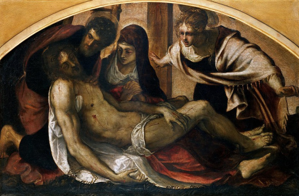 Jacopo (Robusti) Tintoretto. Lamentation of Christ (Pieta)