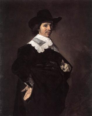 France Hals. Portrait of a man. Paulus Vershuur