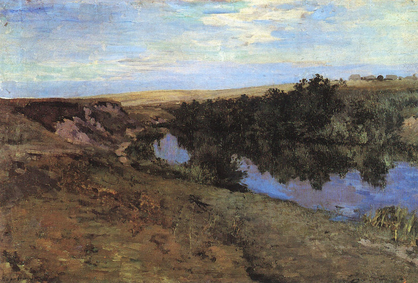 Konstantin Korovin. A river in Mangrove