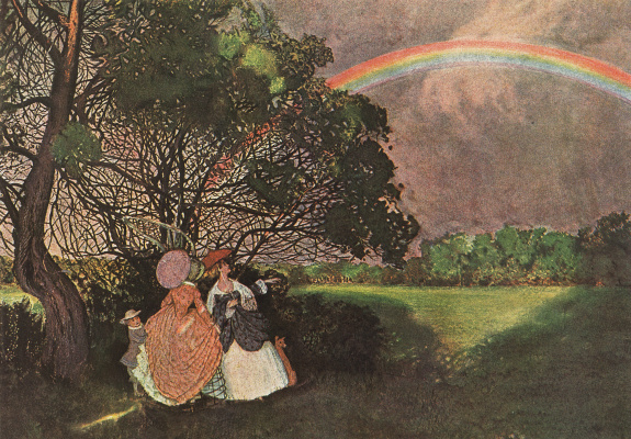 Constantin Somov. Rainbow