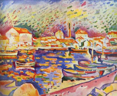 Georges Braque. 'estaque