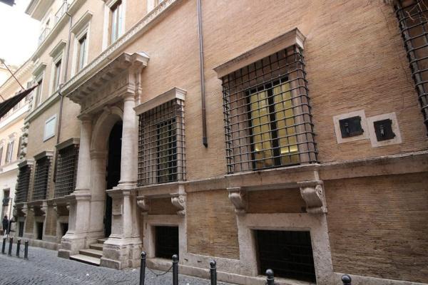 Antonio Junior yes Sangallo. Palazzo Baldassini (Palazzo Baldassini)