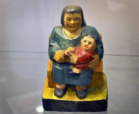 Alexander Vasilyevich Suvorov. Woman with child